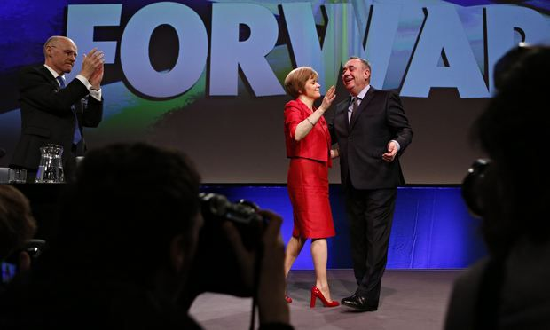 Alex Salmond Nicola Sturgeon Scotland SNP conference